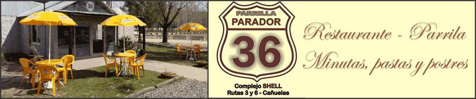 Parrilla Parador 36